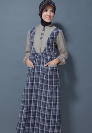 Gambar Model Baju Gamis 338