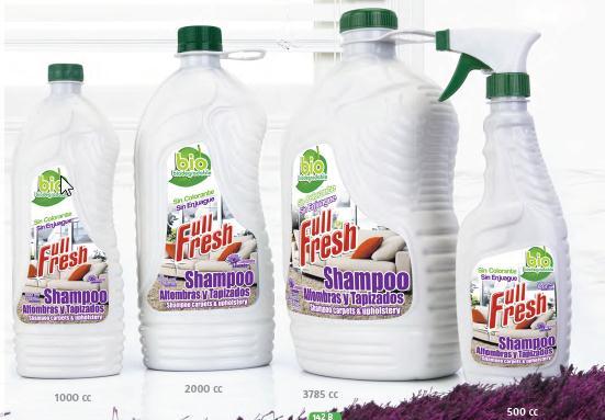 Shampoo para muebles tapizados y alfombras full fresh - Productos para limpieza de alfombras ...