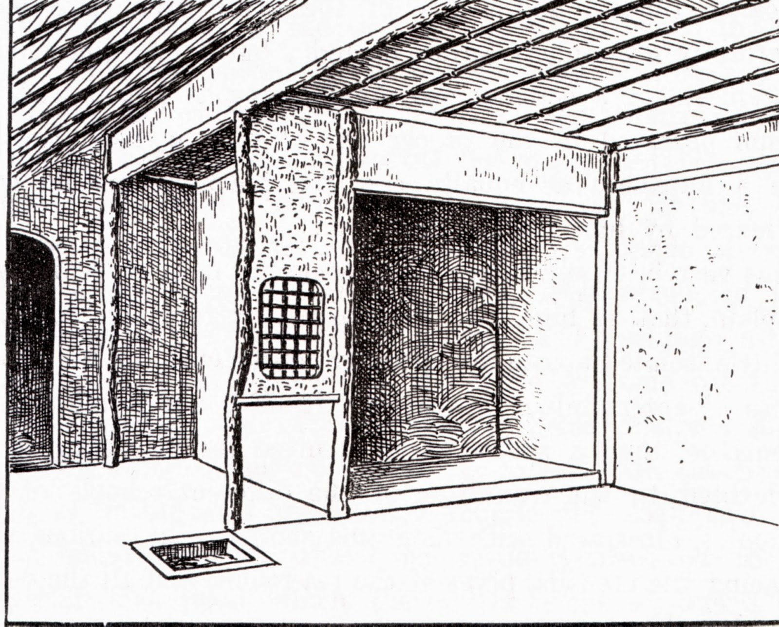 intérieur de pavillon de thé, Sen no rikyu