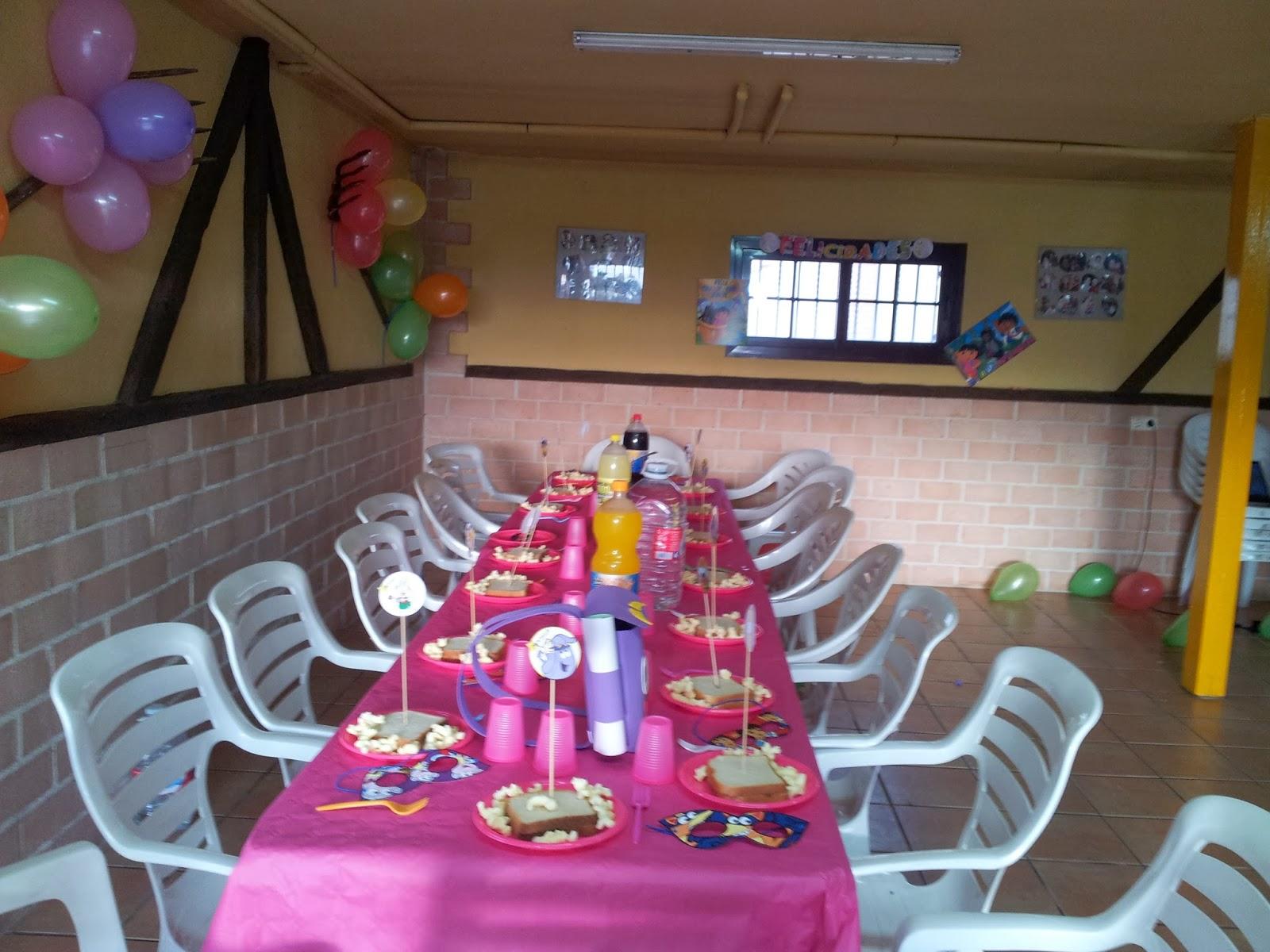 Cumpleaos y fiestas infantiles