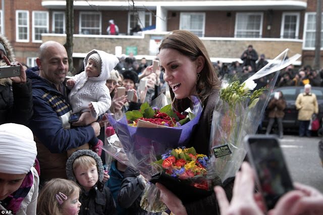 Catherine, Duchess of Cambridge attends an event hosted by The Fostering Network