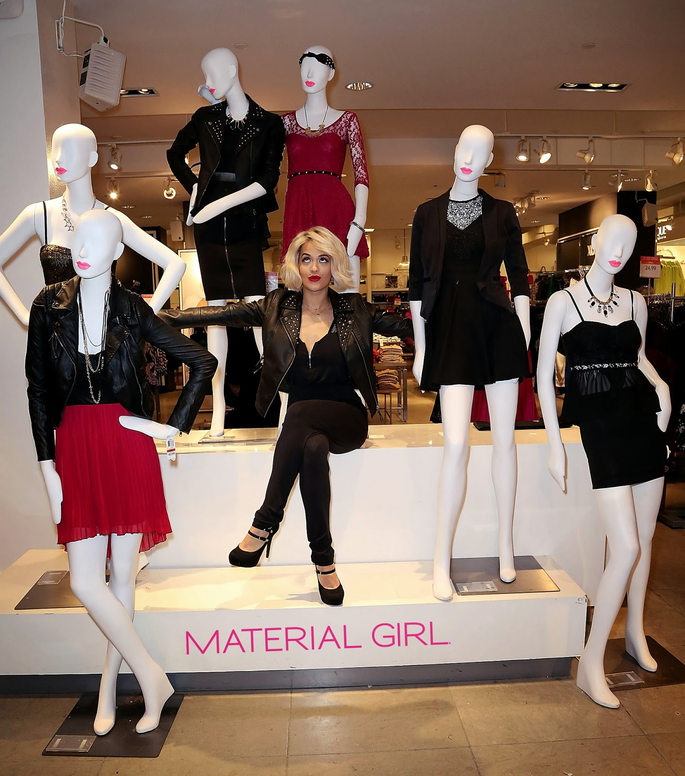 Rita Ora Celebrates Material Girls Holiday Collection At