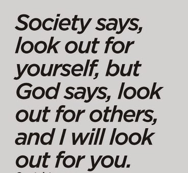 look out for others