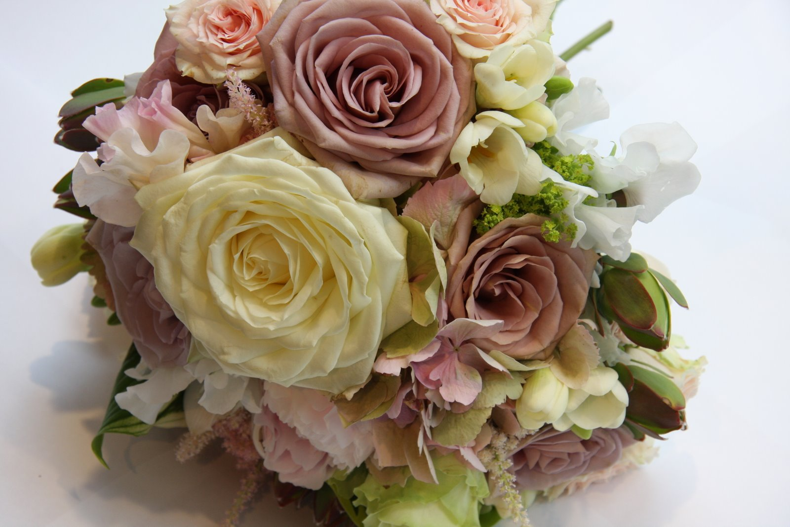 Vintage Floral Wedding Bouquets : My tiny vintage wedding what s in a name that which we