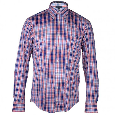 Gantt Oxford Check Button Down Shirt