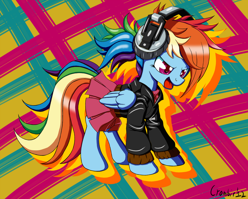 rainbowdash_is_a_punk_rocker_by_crombiet