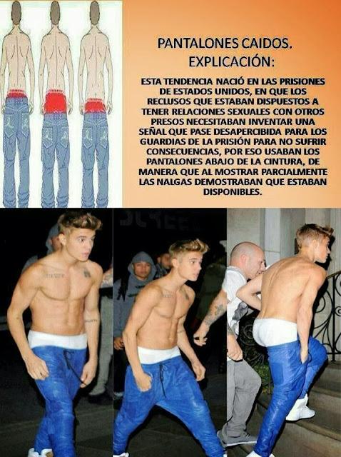 La verdad de los pantalones caidos...
