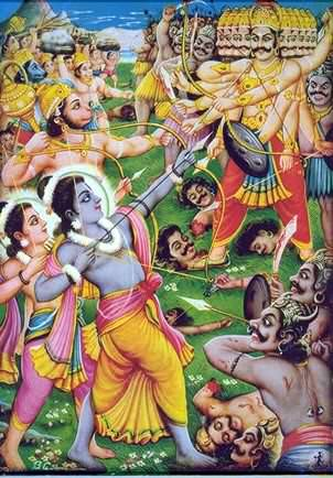 Picture of Story of Lord Rama in Ramayana