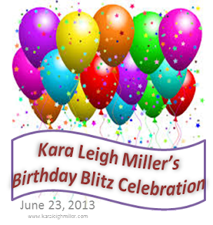 Blog hop: Kara Leigh Miller's Birthday Blitz Celebration