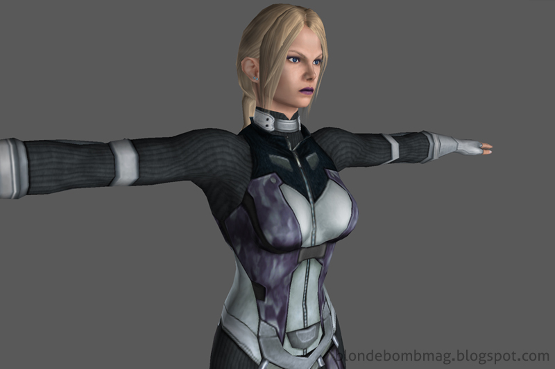 Tekken Nina 3D Character Model Force Suit