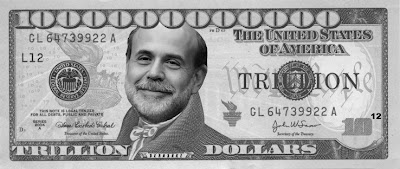 Bernanke Trillion Dollar Bill