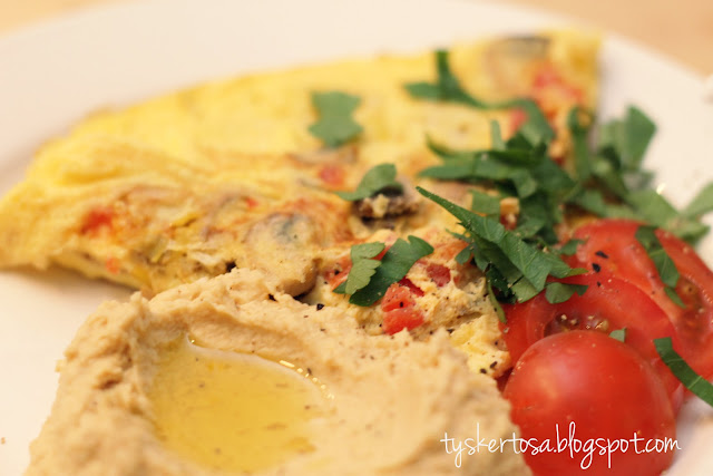 Hummus & Omelett