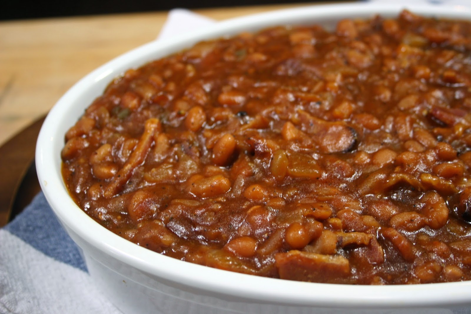 Just A Darling Life: The BEST Baked Beans (with bacon!)