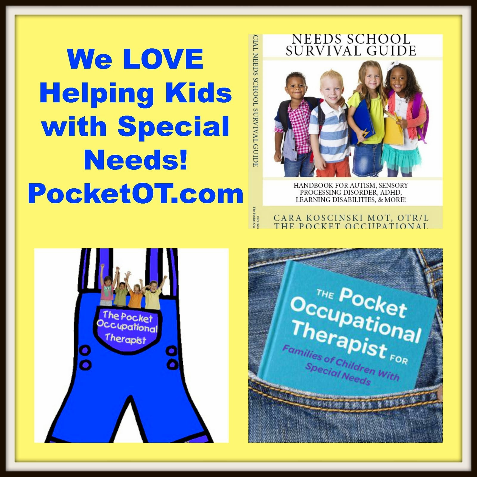the pocket occupational therapist we love our readers