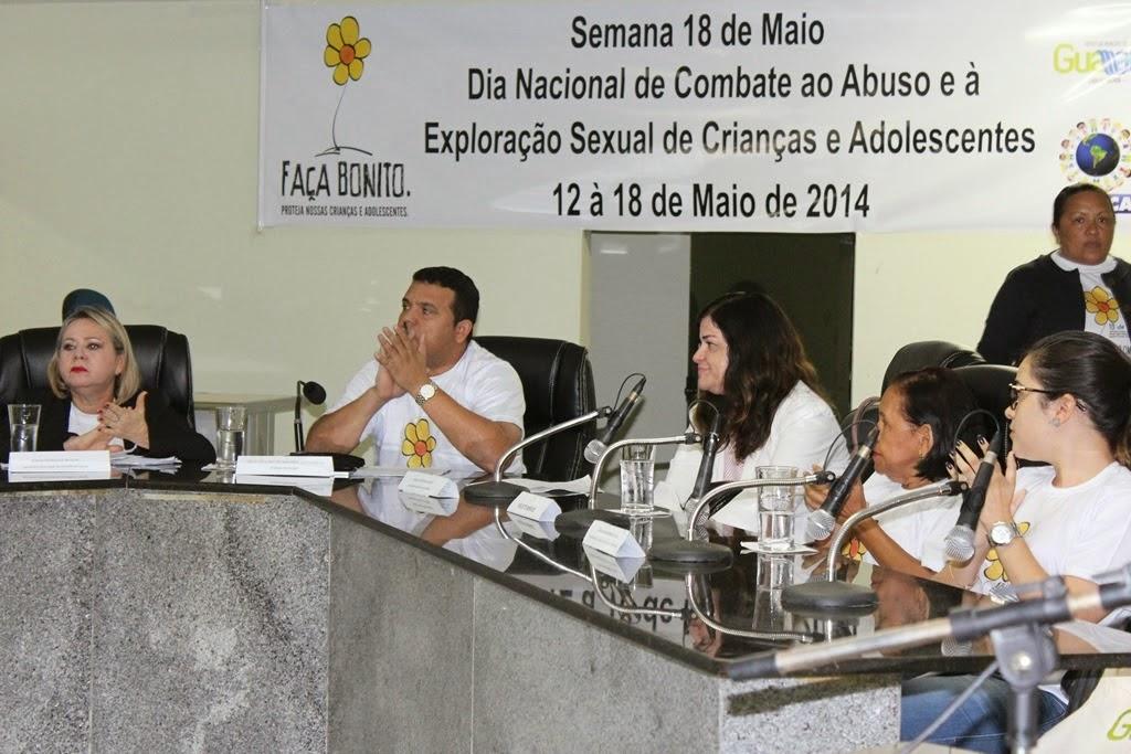 REALIZAÇÃO DO 3º FÓRUM MUNICIPAL DE COMBATE AO ABUSO SEXUAL DE CRIANÇAS E ADOLESCENTES EM GUAMARÉ