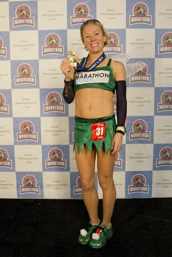 Sheu0027s wearing a Tinkerbell inspired costume!!! And she came in 1st place for women! Talk about awesome.  sc 1 st  Pretend this is real - Blogger & Pretend this is real: Cool Kids Run in Costume
