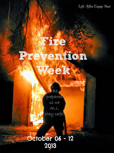 Fire Prevention Week - Is your family prepared for a fire? Do you have a Home Fire Escape Plan?