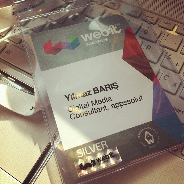 webit congress 2013 id badges