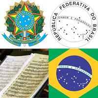 Símbolos nacionais brasil