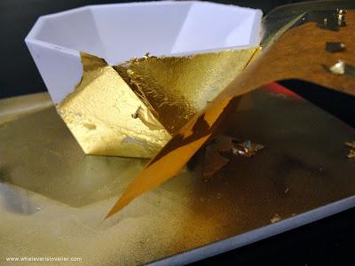 DIY: Gold Leaf Sheets vs. Gold Leafing Pen