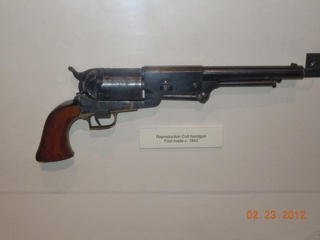 Colt Revolver 1835 Colt 44 Revolver