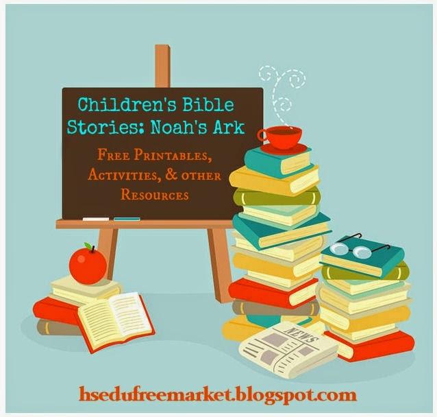 Children\'s Bible Stories: Noah\'s Ark {Free Printables, Activities ...