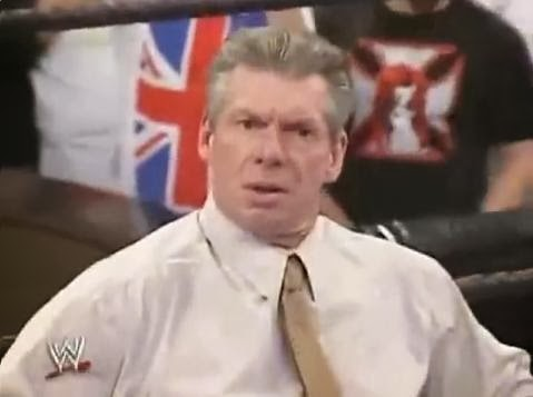 Vince Mr. McMahon 2005 Royal Rumble Quad Tear botch finish