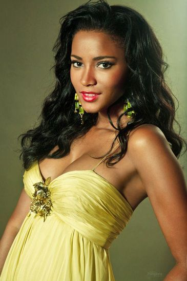 Leila Lopes Miss Angola 2011