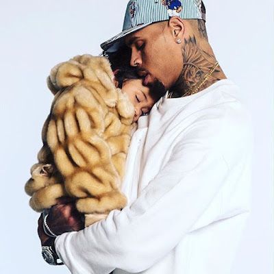 Doting Dad Chris Brown Shows Off Daughter Royalty