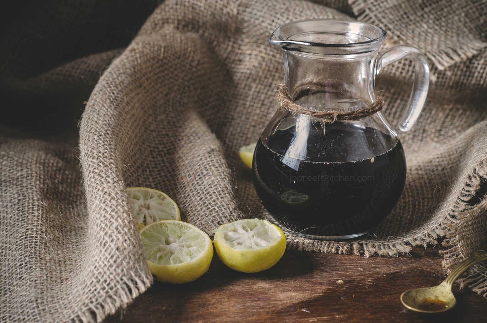 Homemade Nannari Syrup / How to Prepare Nannari Syrup at home