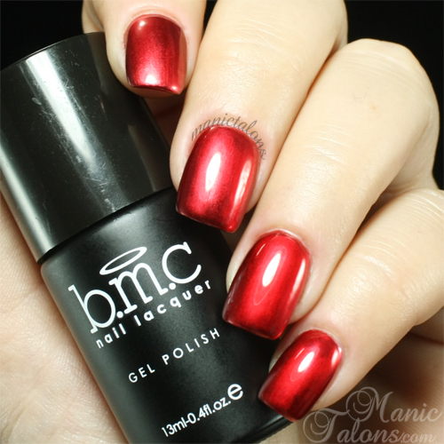 Bundle Monster Miles in Louboutins Metallic Gel Polish Swatch