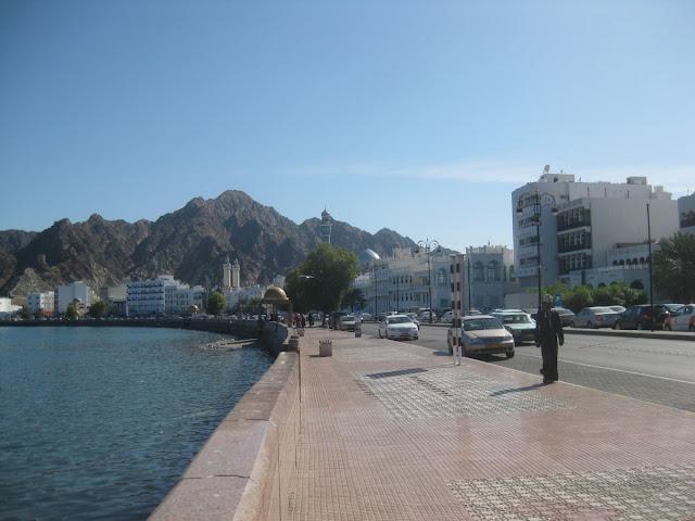 Strandpromenade Matrah - Maskat, Oman