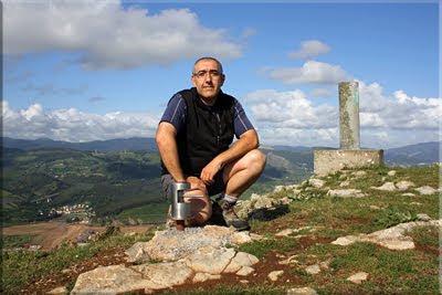 Punta Lucero mendiaren gailurra 307 m. - 2011ko maiatzaren 15ean