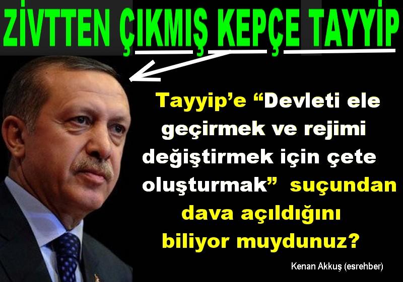 """TAYYİP'İ """"SÜTTEN ÇIKMIŞ AK KAŞIK"""" SANIYORLAR"""