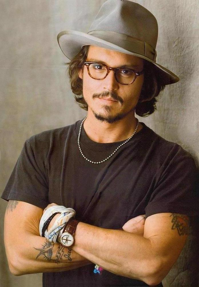 Um íDolo: Johnny Depp!