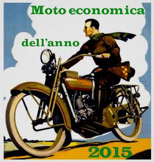 moto economica dell'anno