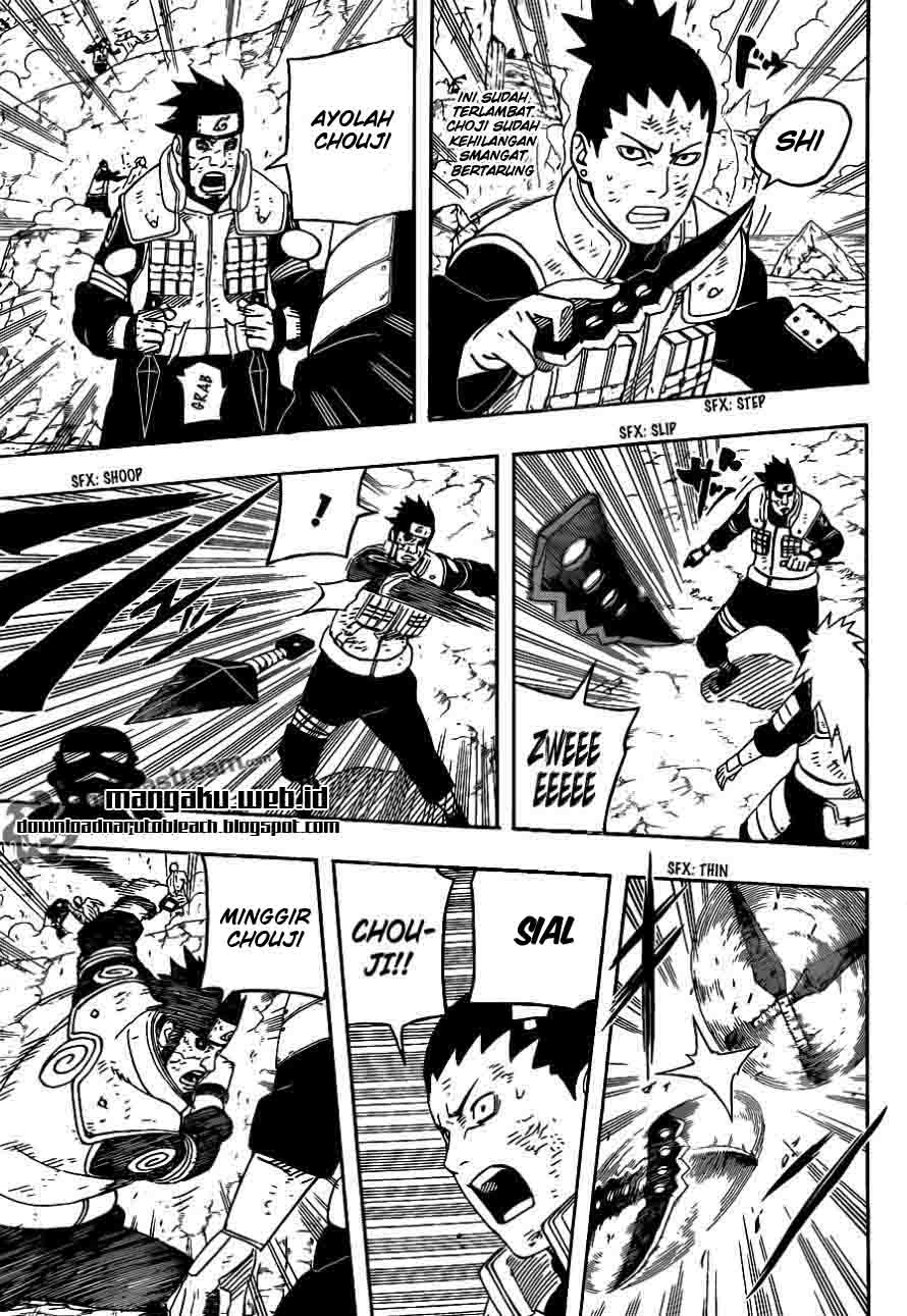Naruto 533 page 5