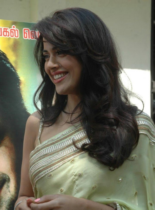 sameera reddy saree in vettai movie audio release cute stills