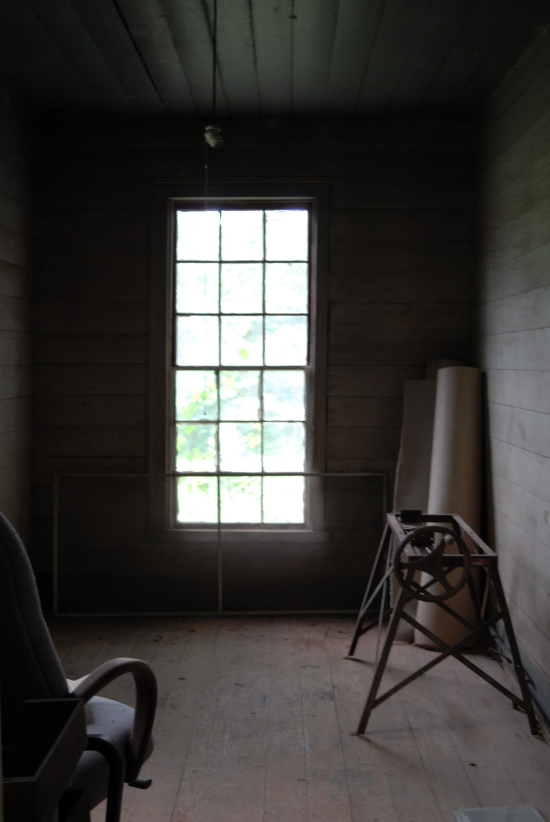 Dust Covered Room Through a Dust-covered