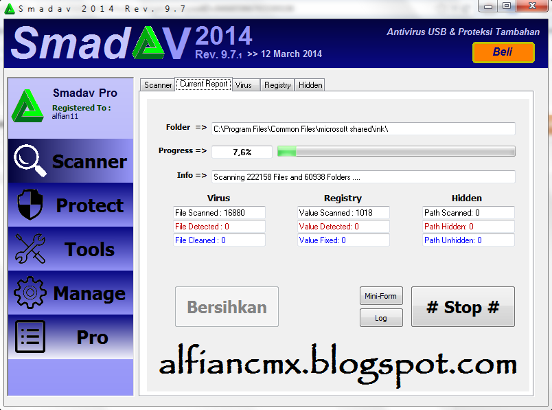 Download Smadav Pro 9.7.1 2014 Full Keygen