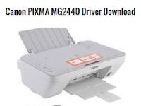 Canon PIXMA MG2440 Driver Free Download
