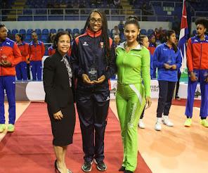 Camila Pérez mejor atacante opuesta en la V Copa panamericana de voleibol femenino U20 en Lima