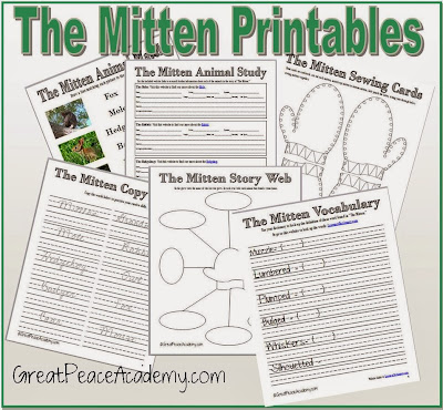 The Mitten Printables | New Calendar Template Site