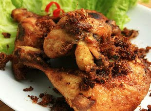 Galangal Fried Chicken Ayam Goreng Lengkuas
