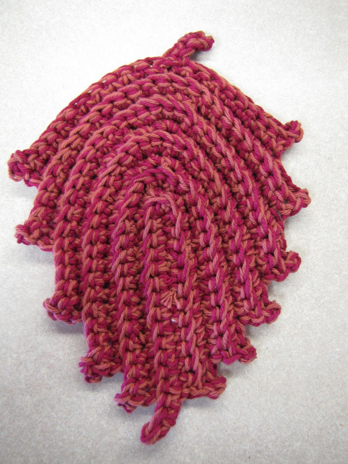 Crochet Leaf Pattern : Autumn Leaves Crochet Pattern Free - Hot Girls Wallpaper