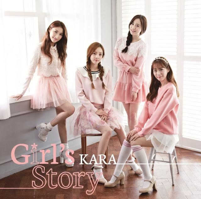 Kara( 카라 )日本新專輯【Girl's StoryGirl's Story (CD+DVD)】預購 哪裡買