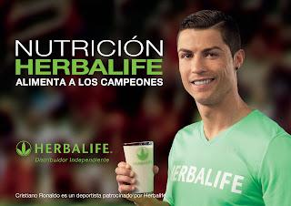 Cristiano Ronaldo Patrocinado por Herbalife