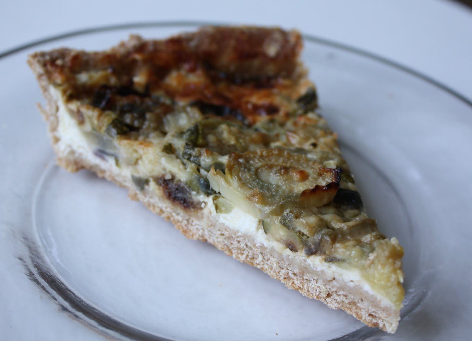 What I Baked This Weekend: Courgette & Fennel Tart