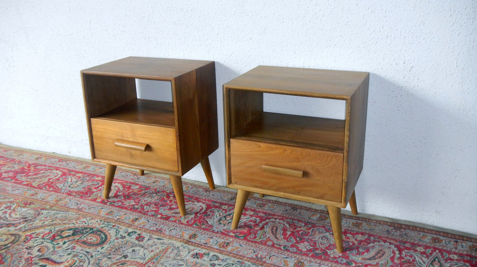mid century modern bedside cabinets vintage and fine