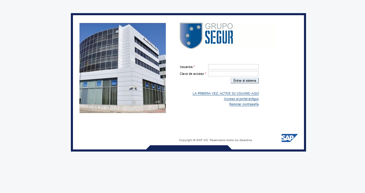 Portal empleado Gruposegur